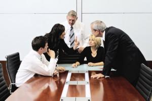 Verkaufsverhandlung beim privaten Immobilienverkauf
