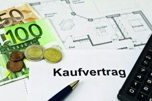 Kaufvertrag Einfamilienhaus